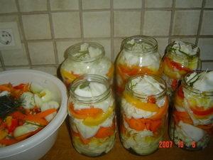 салат огород рецепт на зиму