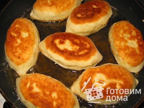 Пирожки на сметанном тесте фото к рецепту 3