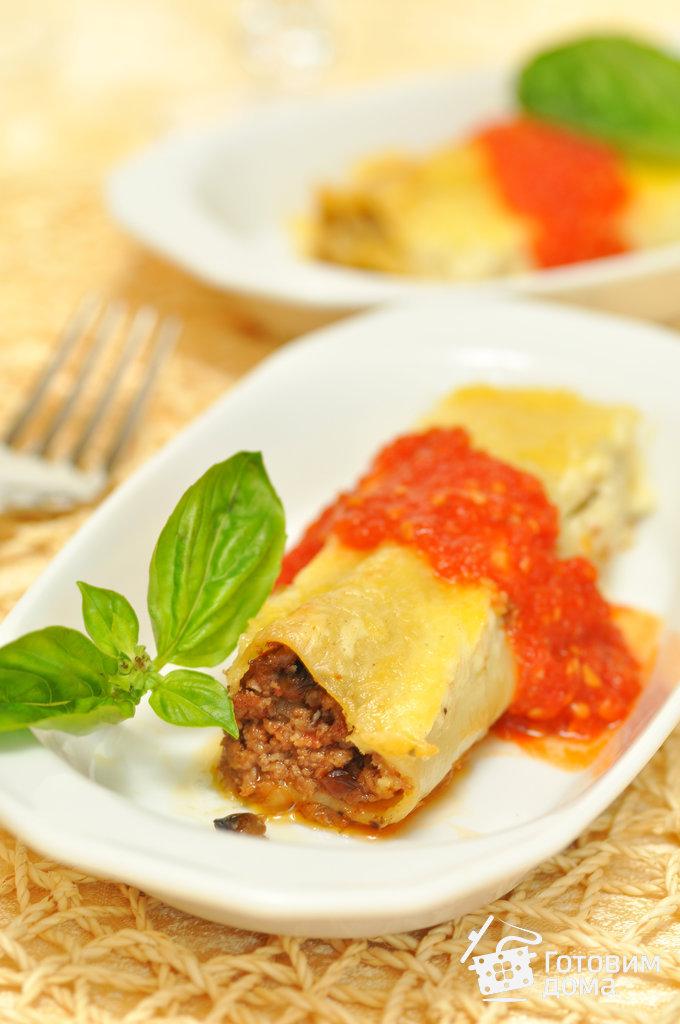 Каннеллони с мясной начинкой - пошаговый рецепт с фото на ... легкий салат с курицей