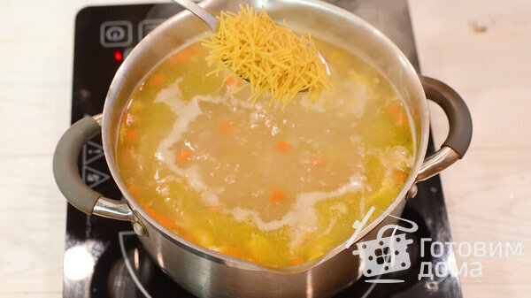 Куриный суп с лапшой фото для рецепта 9