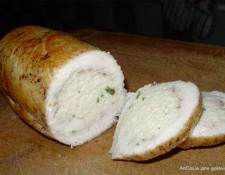 Сырный рулет с фаршем - пошаговый рецепт с фото на Готовим дома