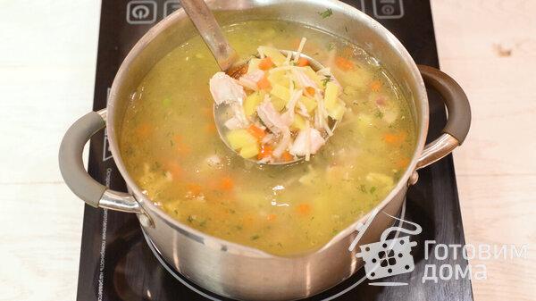 Куриный суп с вермишелью фото для рецепта 11
