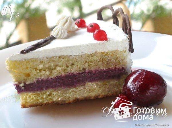 """Торт """"Ягодный рай"""" фото к рецепту 9"""