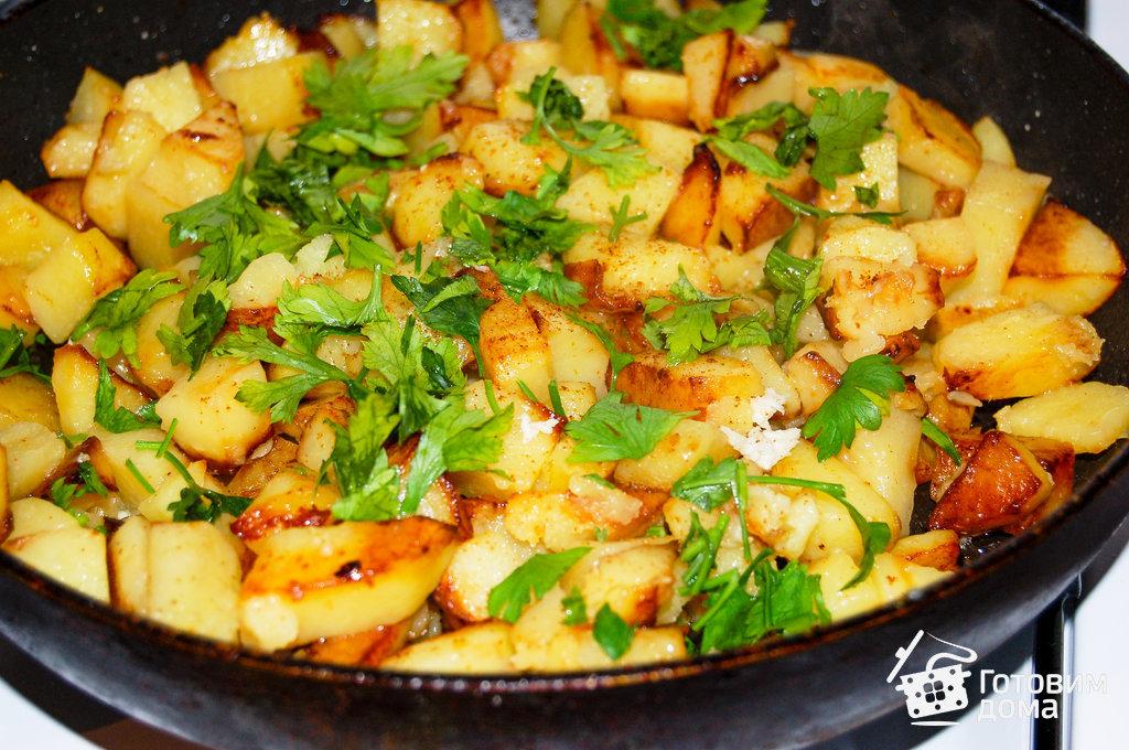 как правильно готовить картошку жареную