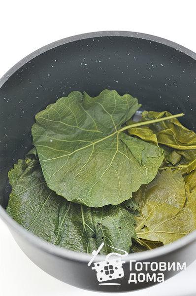 Долма (голубцы в виноградных листьях) фото к рецепту 9