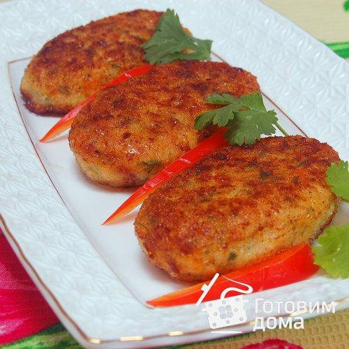 рецепт котлеты рыбные с капустой и морковью