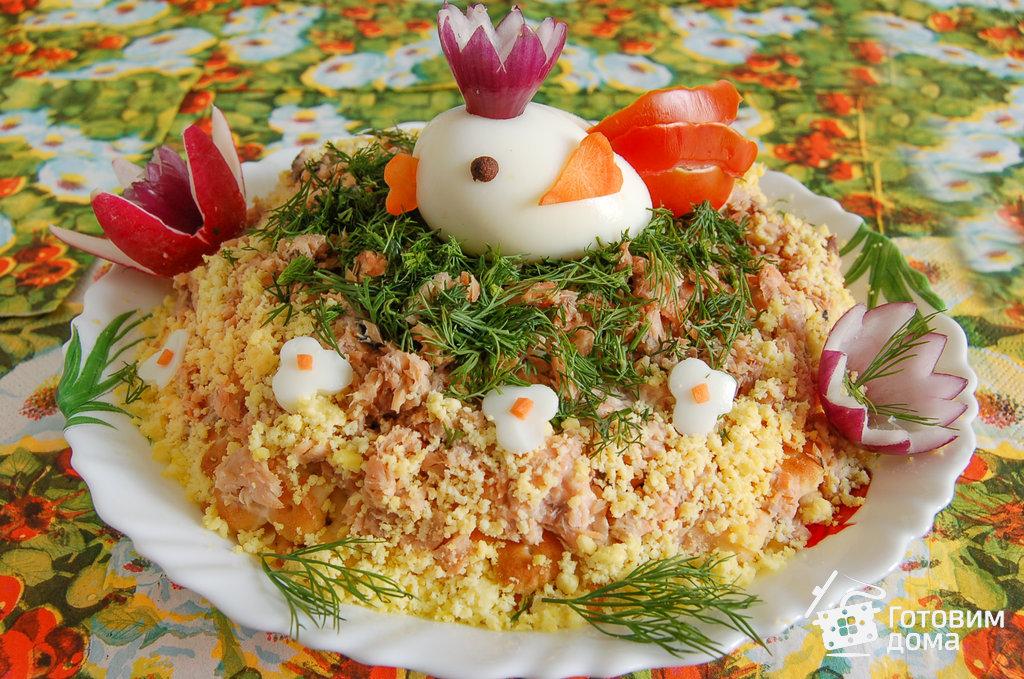 салат мимоза с рисом фото рецепт