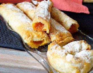 КолокифОпита ( греческий пирос с тыквой и тестом фило. сладкий)