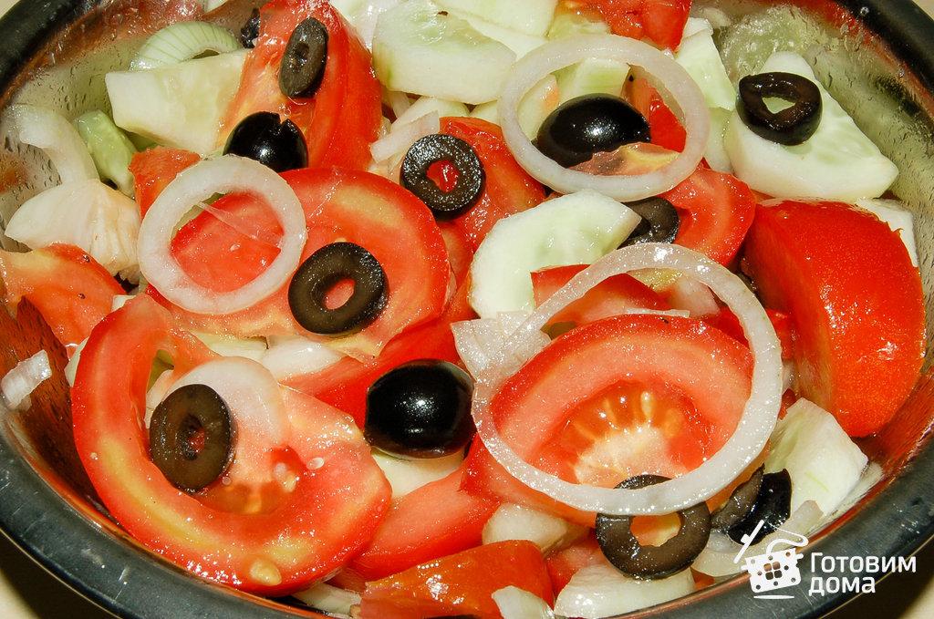Чем полить греческий салат