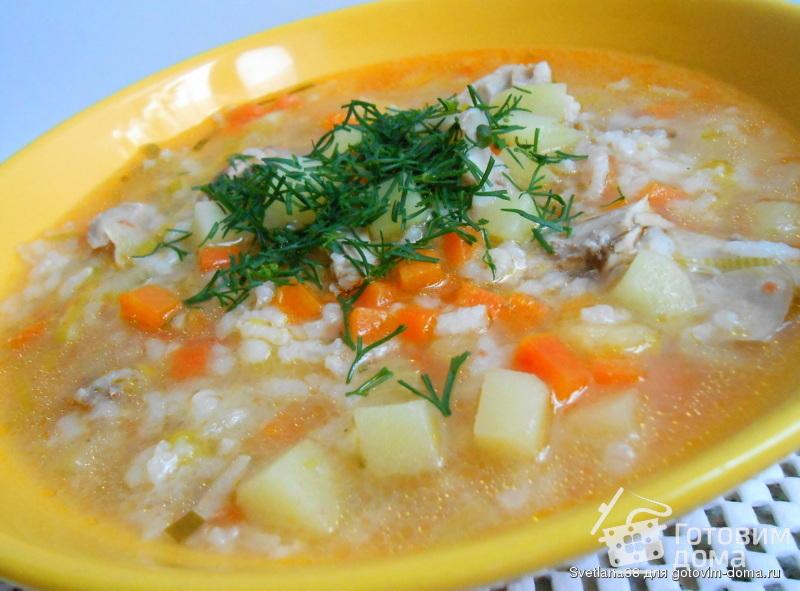 куриный суп с грибами простой рецепт с фото