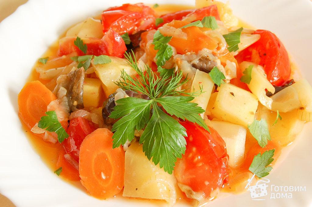 Овощное рагу с тыквой в мультиварке рецепты с пошагово 165