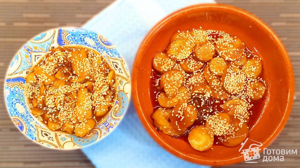 сосиски с грибами в сливочном соусе
