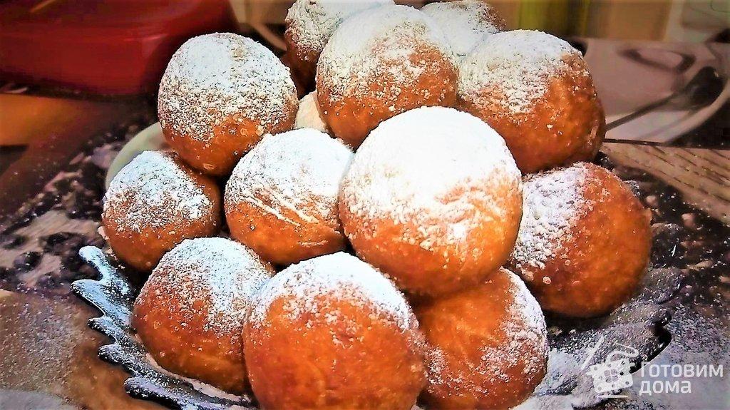 Что приготовить пончики из творога пошаговые рецепты