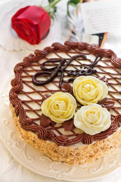 Киевский торт фото к рецепту 28