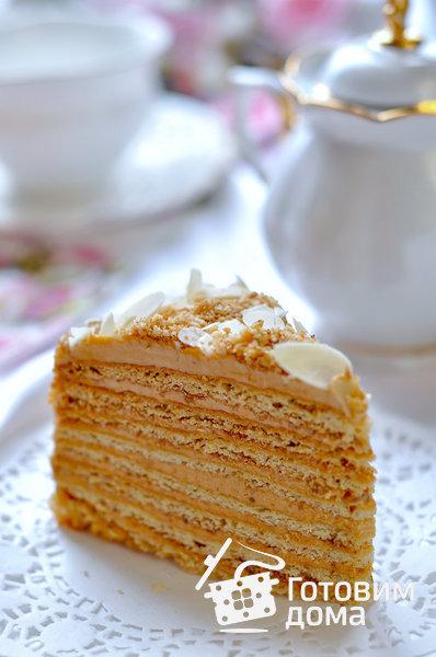 "Торт ""Медовик"" фото к рецепту 21"
