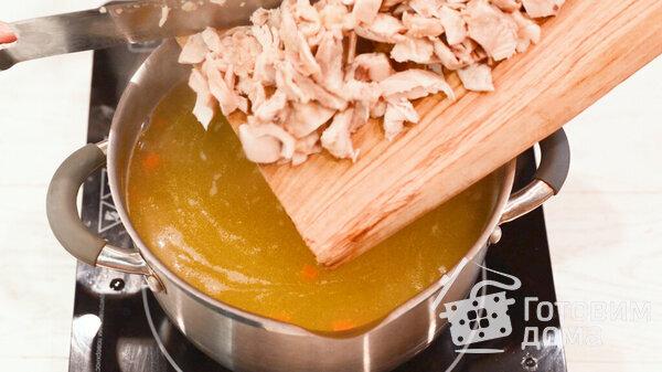 Фотографии куриного супа с лапшой для рецепта 8