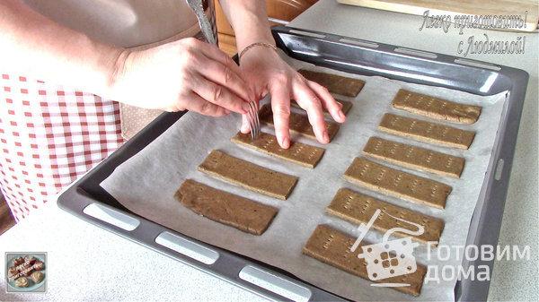 Хлебцы из ржаных отрубей с икрой и зеленым луком - рецепт пошаговый с фото