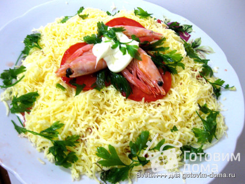 рецепт салат изысканный