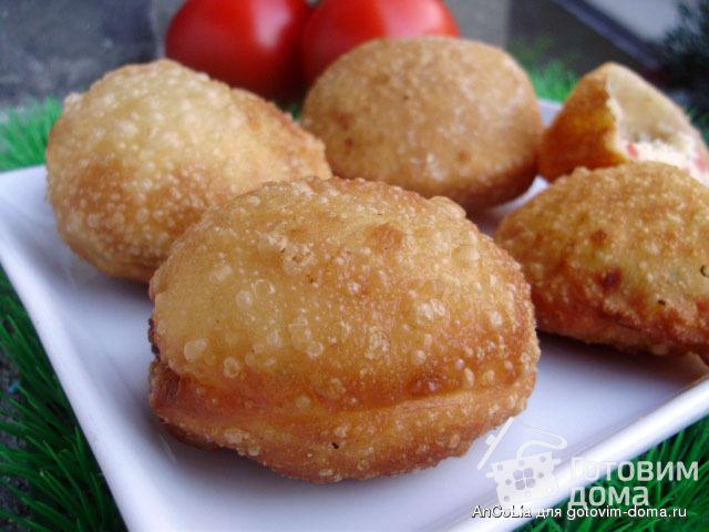 Пирожки бомбочки пошаговый рецепт