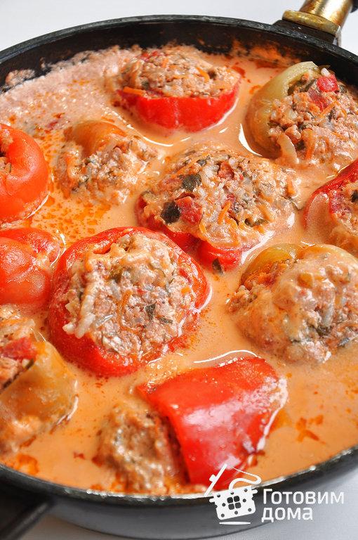 перец фаршированный перец рецепт с фото пошагово
