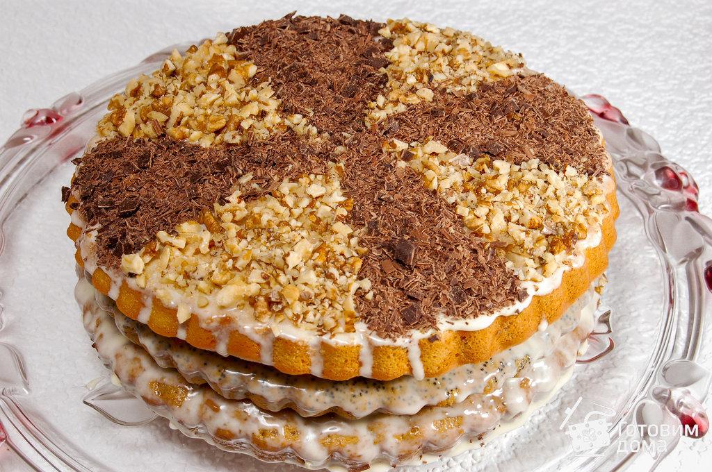трехкоржовый торт
