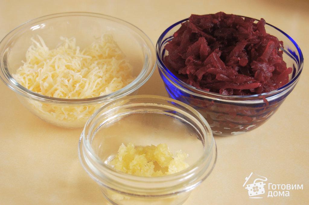 салаты со свеклой фоторецепт