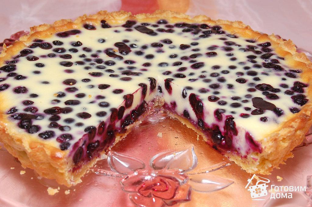Пирог с черникой приготовить