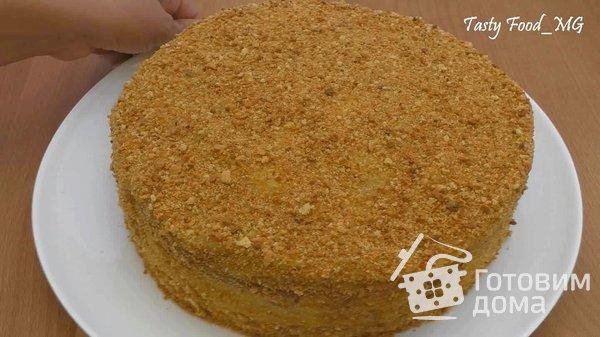 """Торт """"Медовый пух"""", или """"Медовик"""" фото к рецепту 22"""