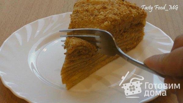 """Торт """"Медовый пух"""", или """"Медовик"""" фото к рецепту 24"""