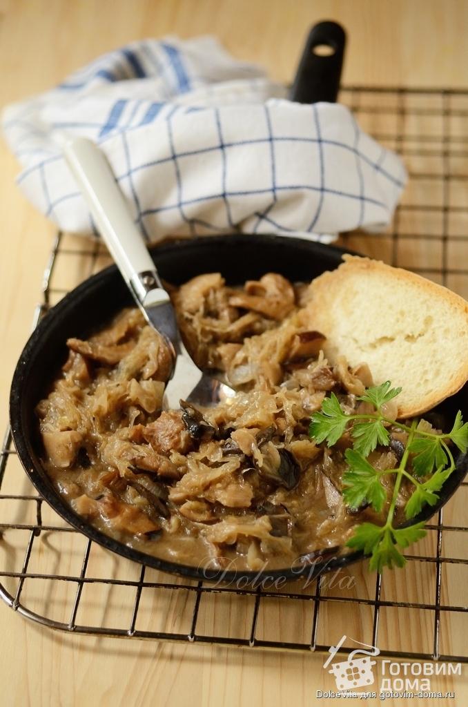 рецепт солянки с грибами из квашеной капусты с грибами