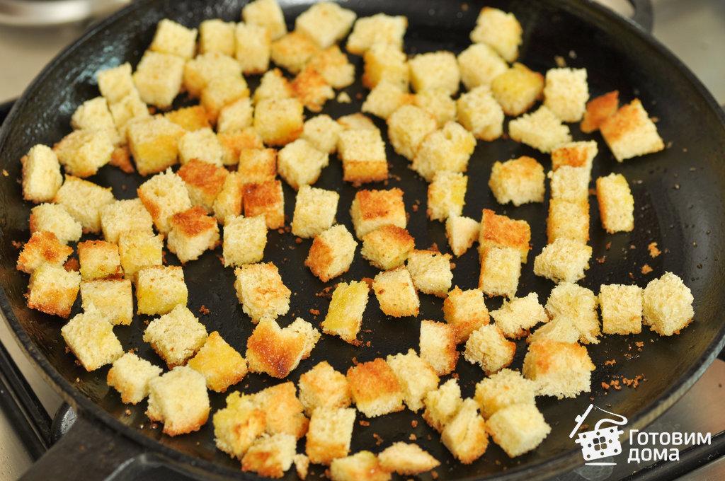 салат из цезарь с креветками рецепт
