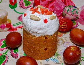 Кулич с цукатами и изюмом - пошаговый рецепт с фото на Готовим дома