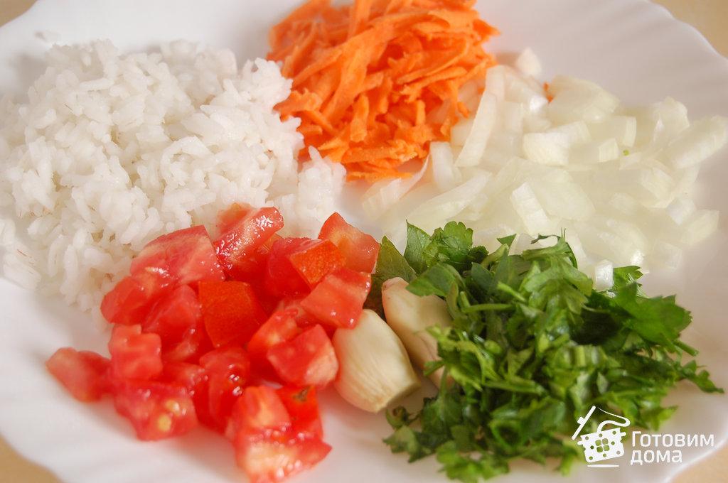 фаршированный перец рисом и морковью