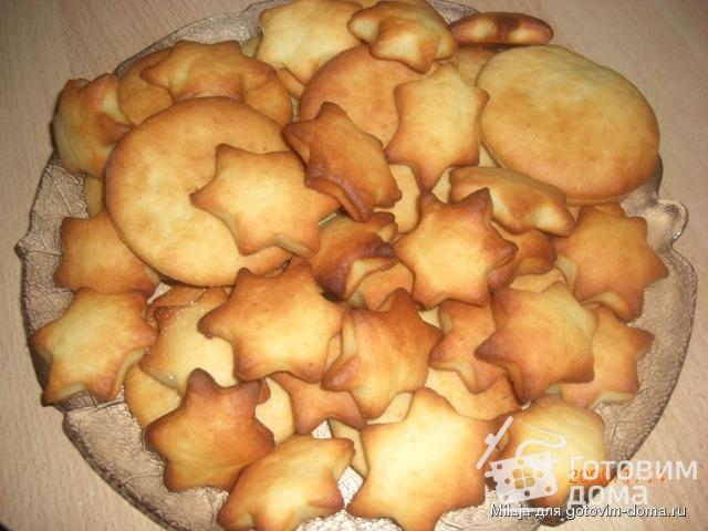 Печенье творожное фигурки