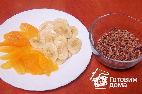 """Торт """"Очарование"""" (бисквит со взбитыми сливками и фруктами) фото к рецепту 9"""