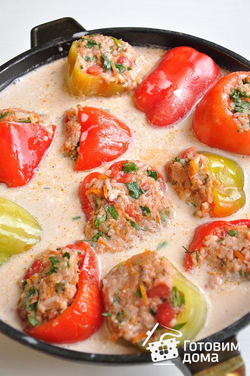 перец фаршированный с мясом фото рецепт