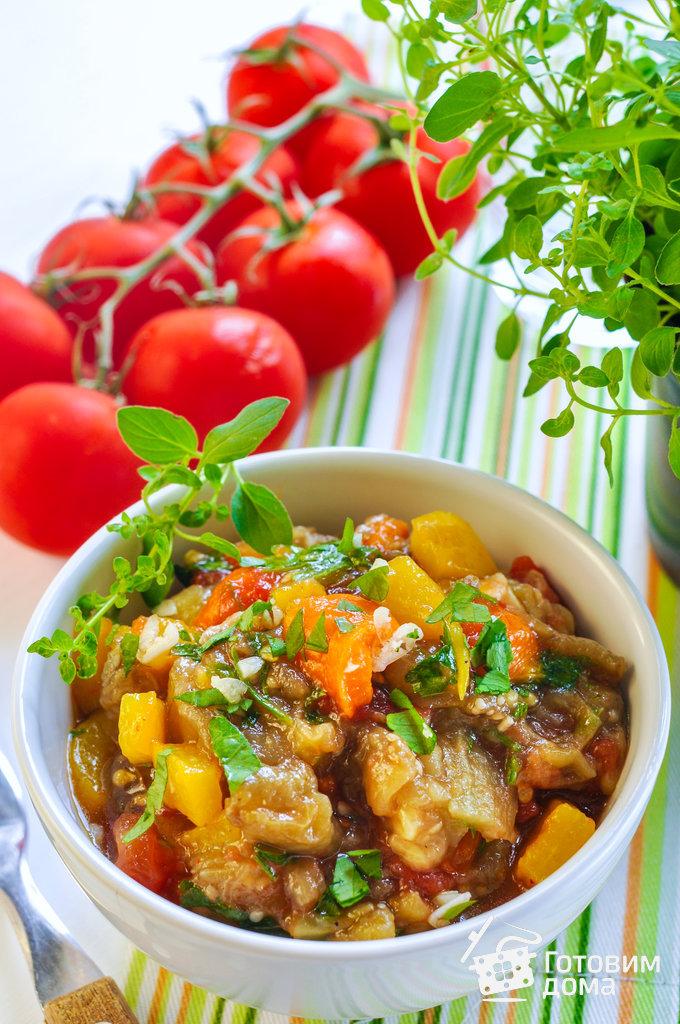 рецепт салата перец и помидоры