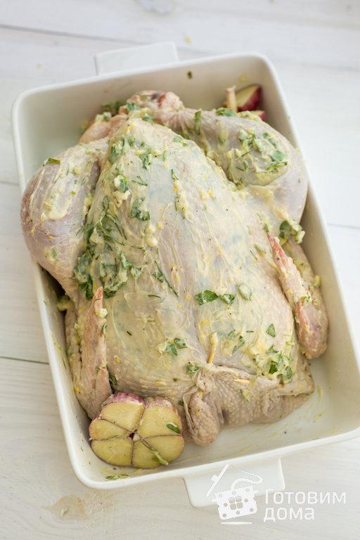 запечь курицу с картофелем в духовке рецепты с фото