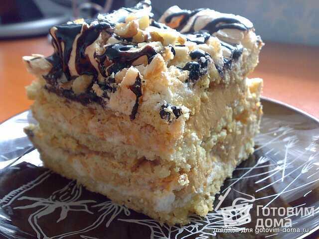 торт сникерс выпечка рецепт