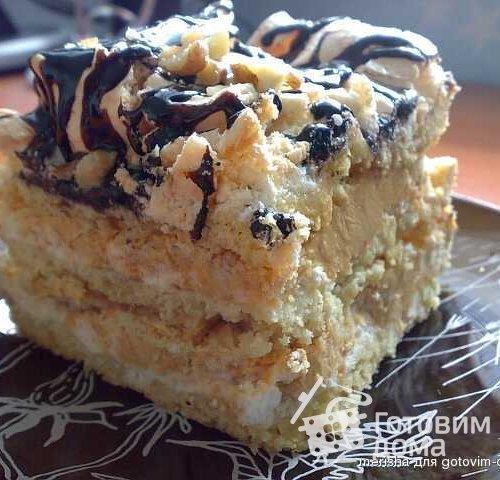 Торт «Воздушный» рецепт с фото пошаговый Едим Дома 49