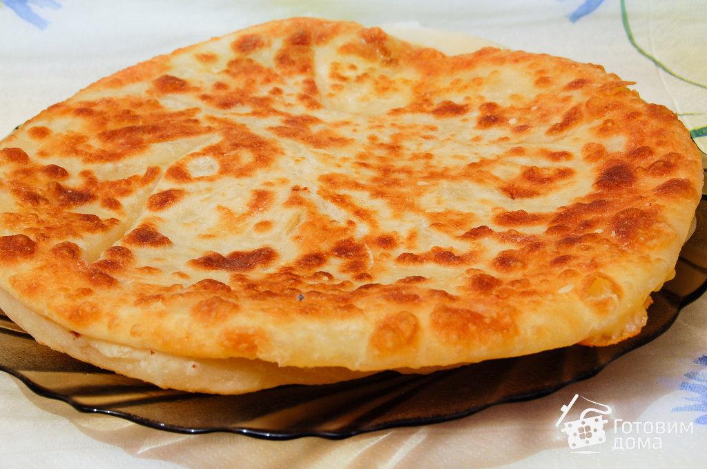хачапури рецепт из готового слоеного теста