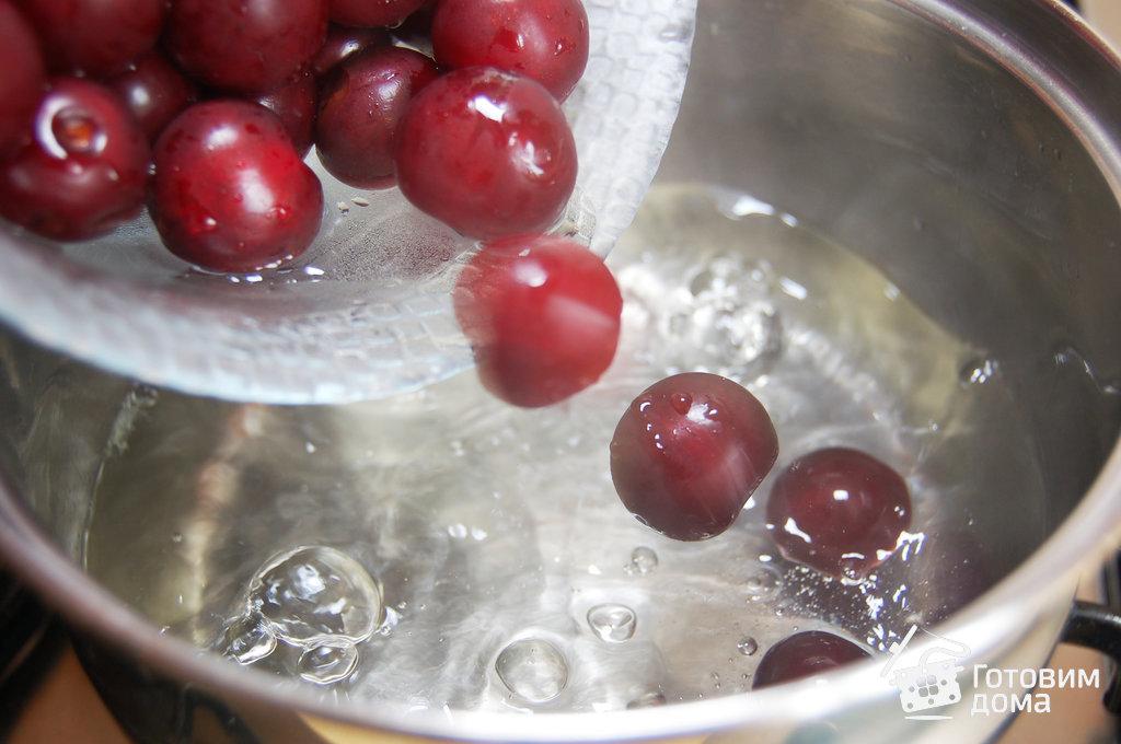 Как из замороженной вишни сварить компот из