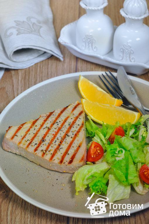 Стейк из тунца - пошаговый рецепт с фото на Готовим дома