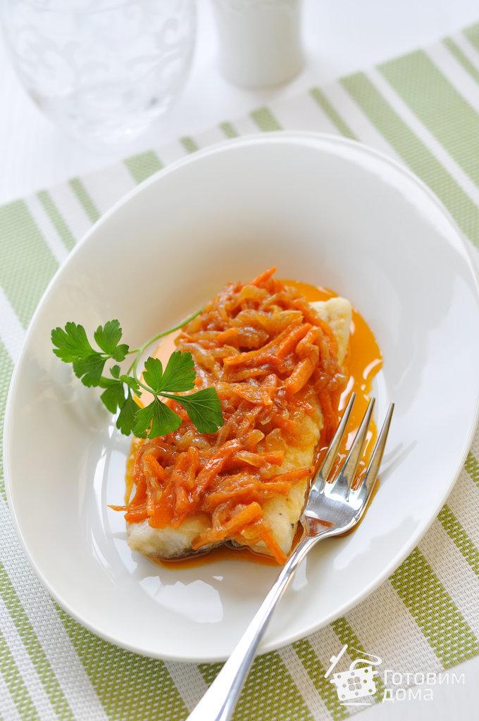 Рыба в морковном маринаде рецепт с фото