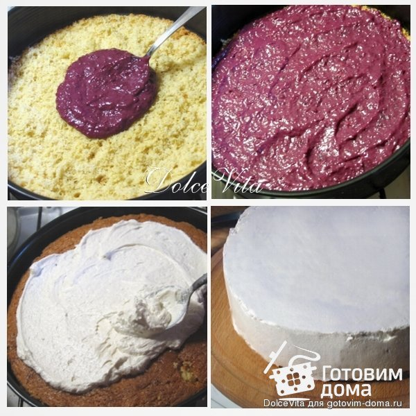 """Торт """"Ягодный рай"""" фото к рецепту 5"""