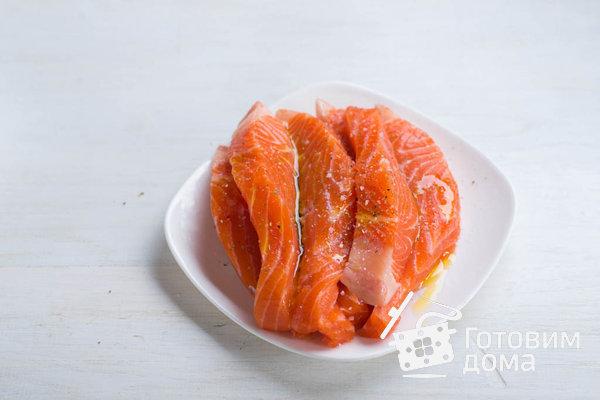 Филе лосося в панировке (от Джейми Оливера) фото к рецепту 2