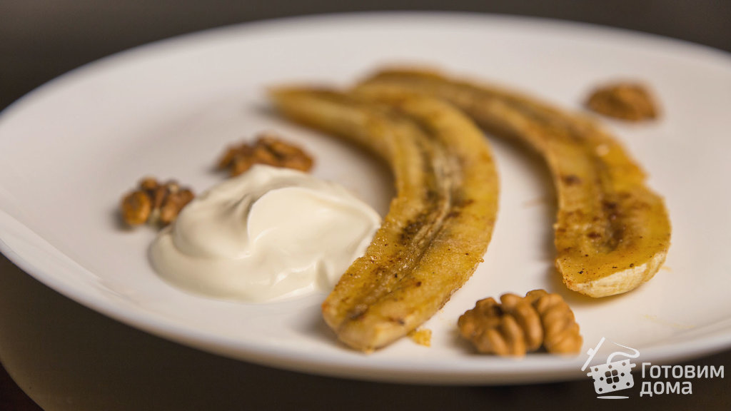 Рецепты запеченые бананы