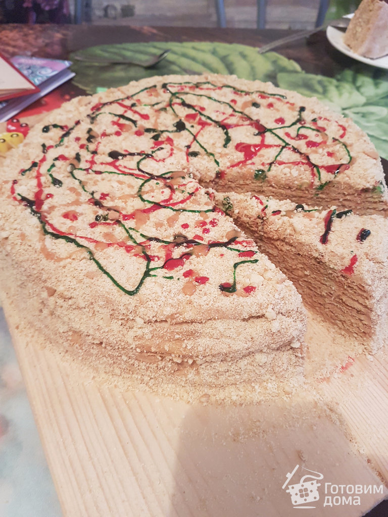 Торт профитроли сметанный крем рецепт