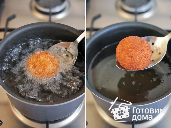 Хрустящие сырные шарики из моцареллы: невероятно вкусная закуска (Фото)