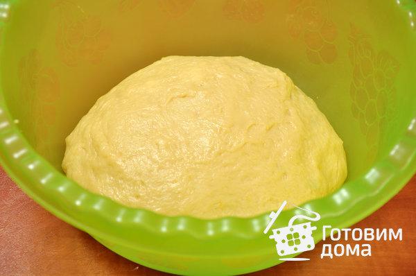 Пирожковое тесто на молоке - рецепт пошаговый с фото